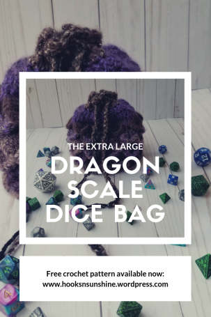 dragonscale dice bag