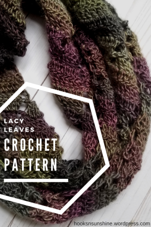 lacy leaves crochet pattern