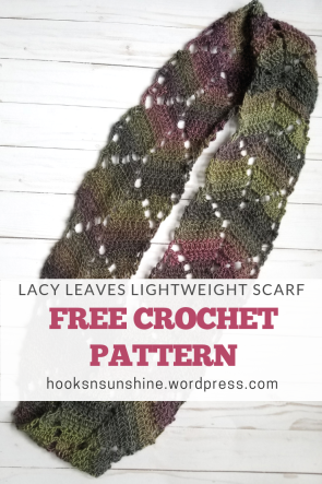 Lacy Leaves Scarf