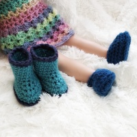 Simple Doll Boots
